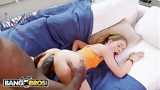 BANGBROS - Lilly Ford Handles Mandingo's Big Black Cock With Ease