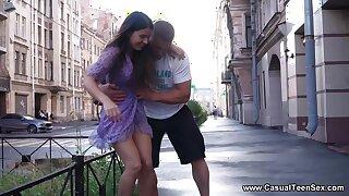 Casual Young Girl Intercourse - Alice Kelly - Dick-craving 18yo girl casua
