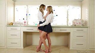 Ultra Hot Lesbians Kenna James and Mia Malkova